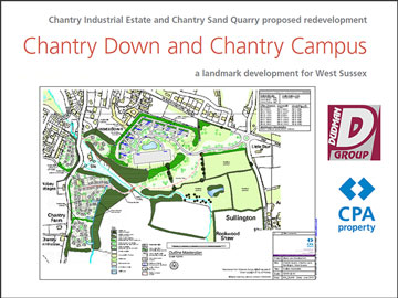 Chantry Mill Quarry site_plan